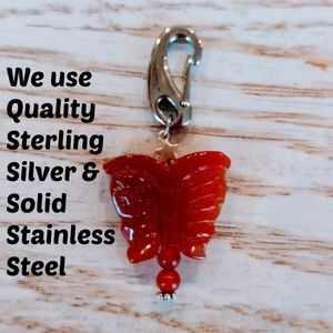 Handcrafted Crystal Healing Pet Charm